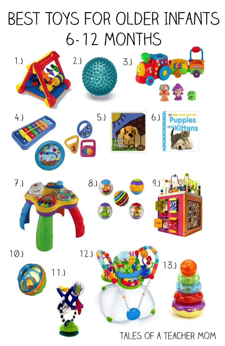 Toys For 6 Months : Best toys for older infants months tales of a